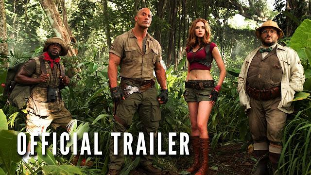 jumanji 2 trailer 2017