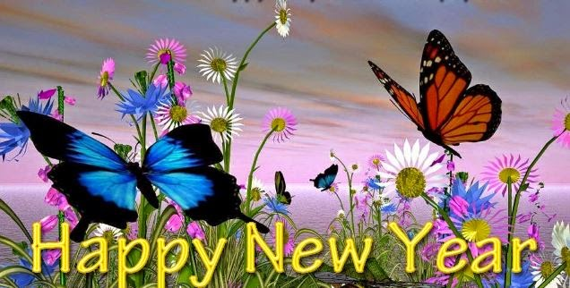 Happy New Year 2016 Butterfly Wallpapers High Quality