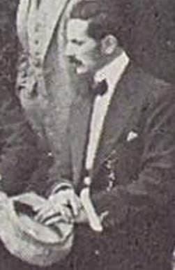 Max Adolf Albin en octubre de 1912