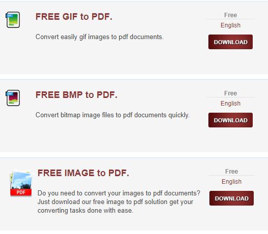 تحميل جميع برامج تحويل PDF للكمبيوتر مجانا PDF Converter