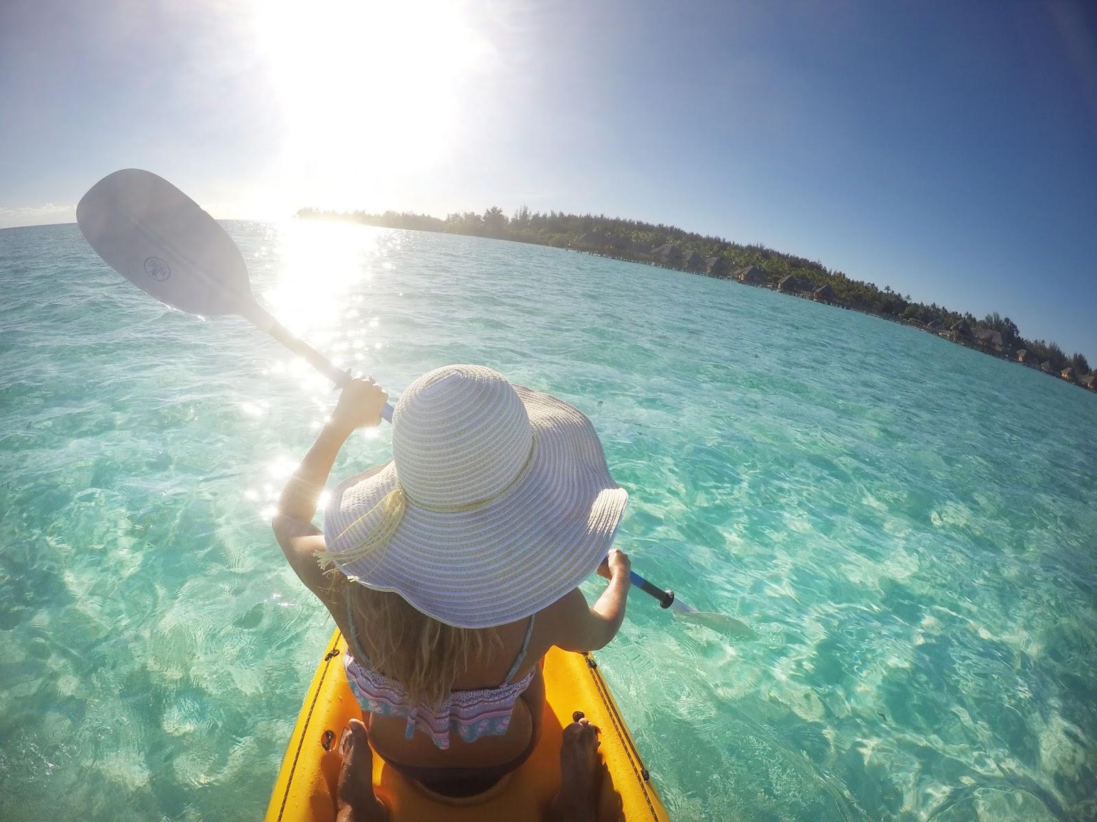 Bora Bora kayaking