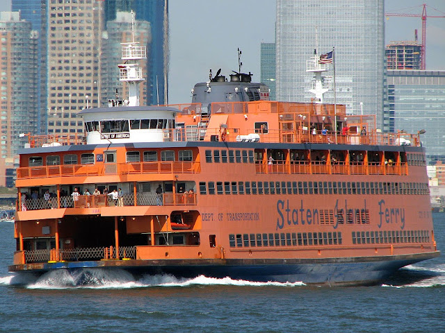 MV Spirit of America Staten Island ferry, New York