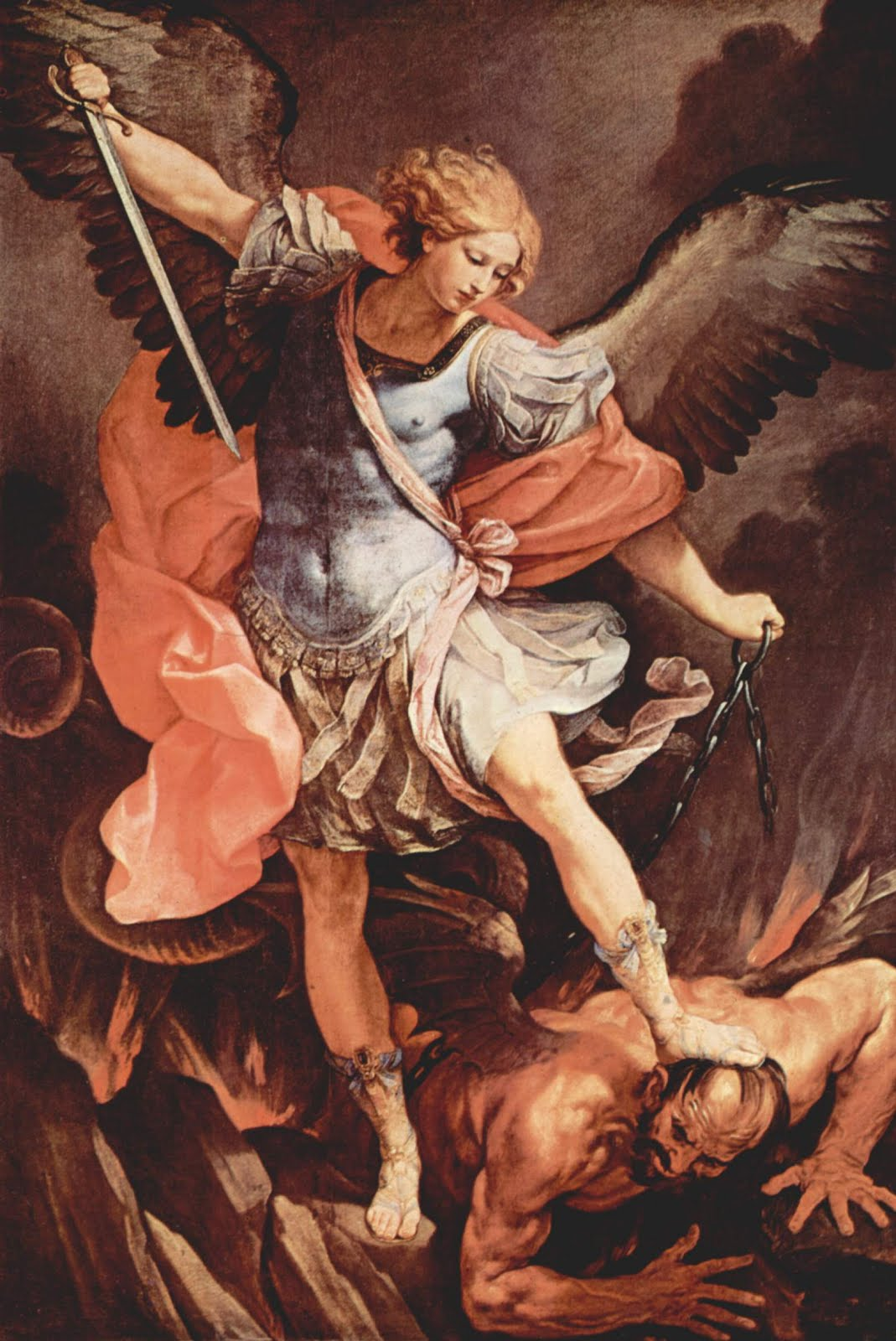 Archangel michael in you we keep our faith.