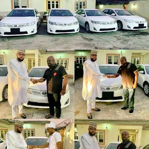 (Photos) Brand New Toyota Cars Given out by E-Money As He Celebrates His Birthday