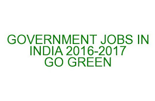 GOVERNMENT JOBS IN INDIA, A BRIEF DESCRIPTION GIVEN HERE