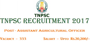 Assistant Agricultural Officer