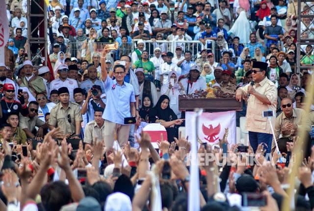 Prabowo-Sandi Bisa Jungkalkan Petahana Saat Hari Pencoblosan