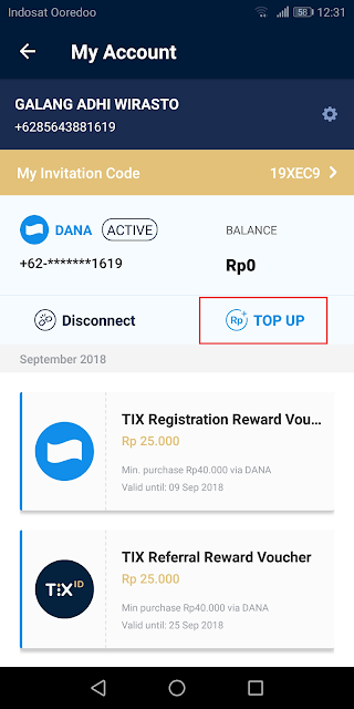 top up saldo dana