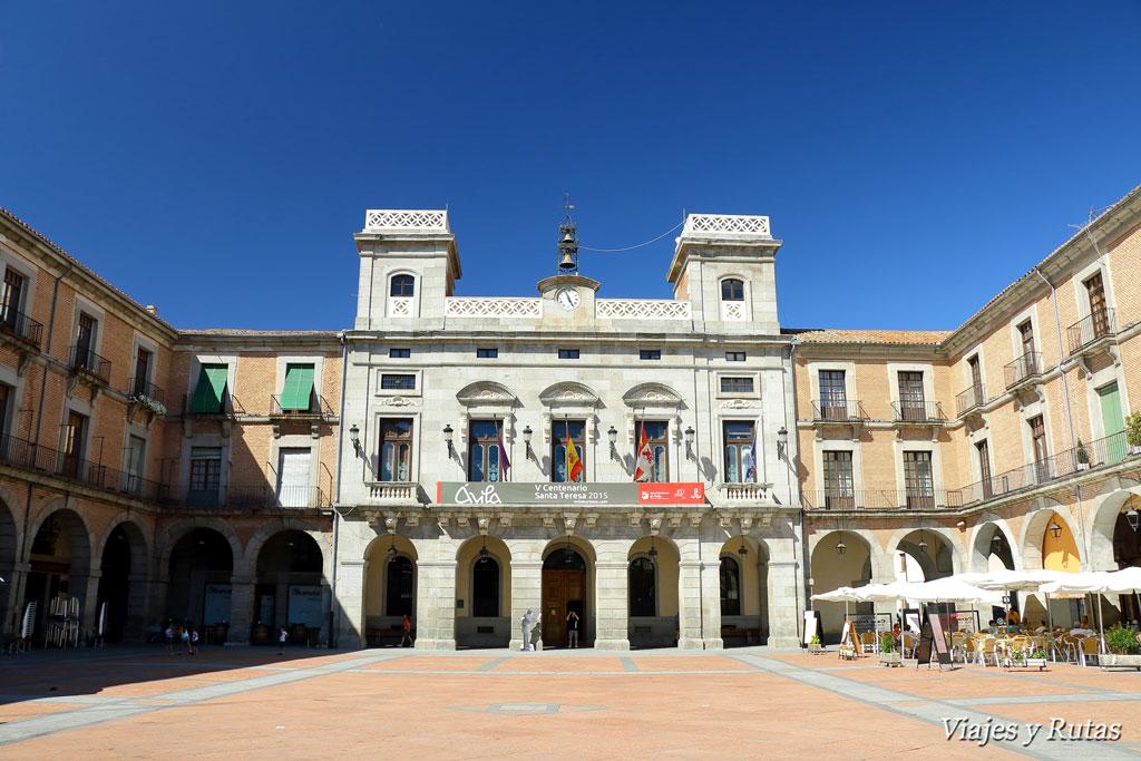 Ayuntamiento en plaza del Mercado Chico