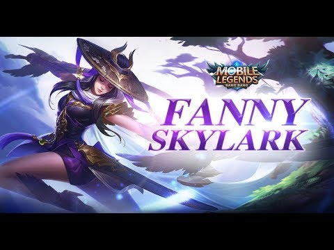 Skin Mobile Legends Fanny Skylark