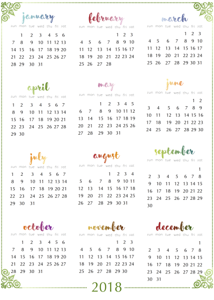 Calendar Monthly Overview : Musings of an average mom year at a glance calendars