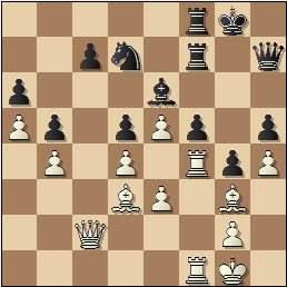 Partida de ajedrez Teresita Pérez vs. Amparo Galindo, posición después de 26…Tcf8?