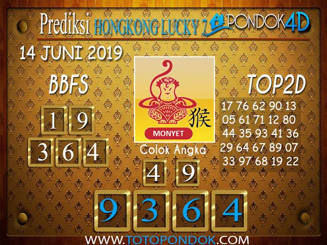 Prediksi Togel HONGKONG LUCKY 7 PONDOK4D 14 JUNI 2019