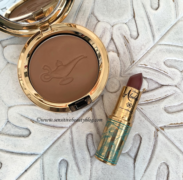 MAC x Aladdin your wish is my command bronzer and rajah lipstick