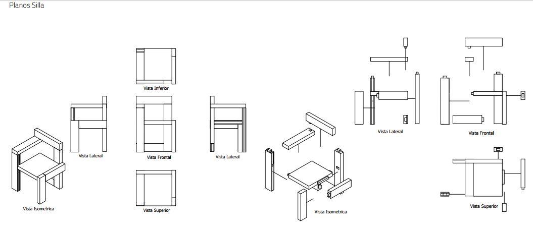 El pdf 3d ese gran desconocido for Planos silla ergonomica pdf