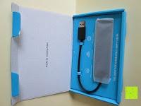 auspacken: Anker Ultra Slim und Ultra Leicht 4-Port USB 3.0 Datenhub