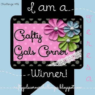 5 x Crafty Gals Corner Winner
