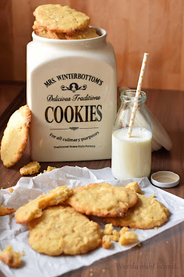 White Cocolate Cookies wie von Starbucks.