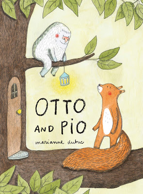 Otto and Pio - Otto the squirrel is quite happy with his life, but one day an odd, green ball is outside his door. The green, spiny ball soon hatches and out pops a small, round, furry creature looking for his mother. With no mother in sight, Otto eventually sets out to help the creature. #OttoandPio #picturebook #childrenslit #childrensfiction