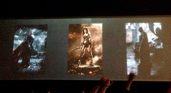 Carteles 'Batman V Superman: Dawn of Justice'