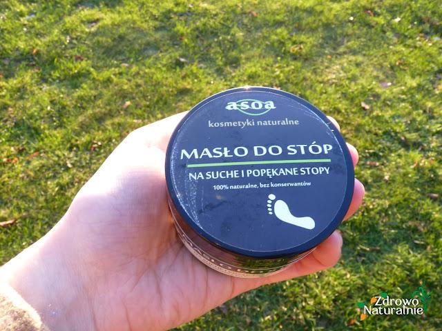 Asoa - Masło do stóp na suche i popękane pięty