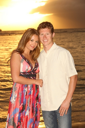 Nicole Briscoe  and her husband Ryan Briscoe