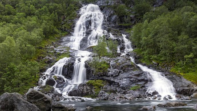 Wallpaper: Super Waterfall
