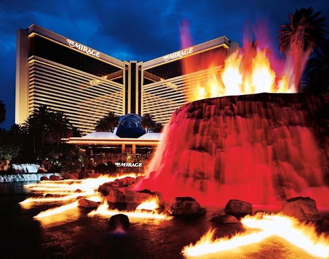 Show do Vulcão do Mirage em Las Vegas