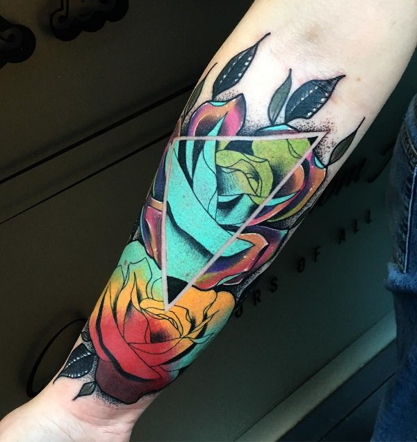 Awesome Forearm Tattoos For Women