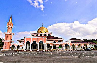 Masjid Sultan Abu Bakar, Raub
