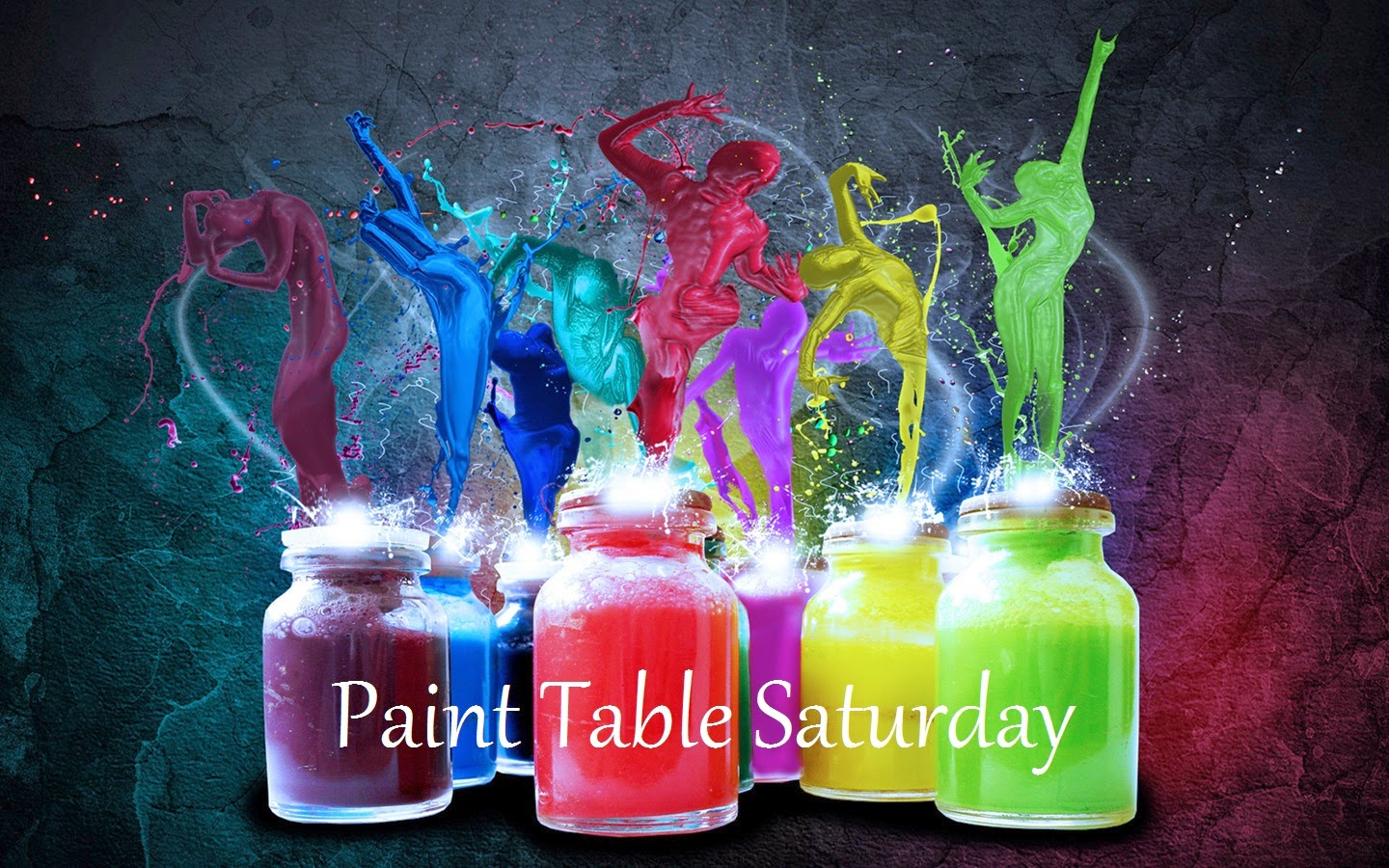 Paint Table Saturday !