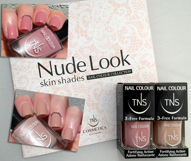 TNS Cosmetics Nude Look: Skinlover, Light Touch