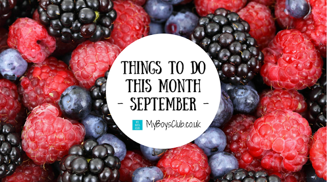 7 Things to do this month - September