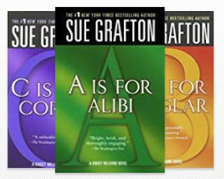 I finally read ALL of Sue Grafton's Alphabet Series!