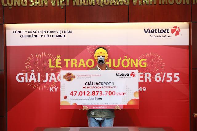 Anh xe ôm nhận giải 47 tỷ đồng - Win2888vn
