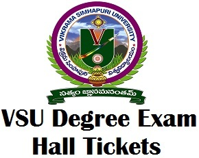 Vikram Simhapuri University Exam Hall Ticket 2017