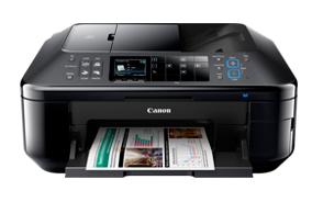 Der Canon PIXMA MX715 Premium Workplace All-in-One-Drucker ist eine ausgeklügelte Option für überlegene Heimarbeitsplätze zum Drucken, Kopieren, Scannen sowie Faxen mit Wireless / Ethernet-, Mobilgeräte- und Apple AirPrint-Konnektivität.