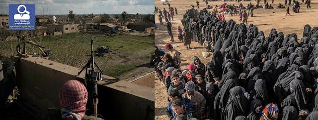 """مع سقوط """"الخلافة"""" ، تقوم """" دولة الداعش"""" ببذر تمرد جديد"""