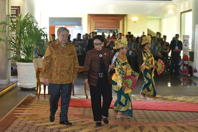 Sekjen PBB Puji Respon Pemerintah Indonesia Tangani Pascagempa di Palu dan Lombok