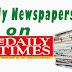 NAIJA NEWSPAPERS: TODAY'S THE DAILY TIMES NEWSPAPER HEADLINES [10 NOVEMBER, 2017].
