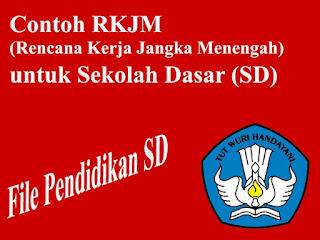 Contoh RKJM Sekolah dasar (SD) Terbaru