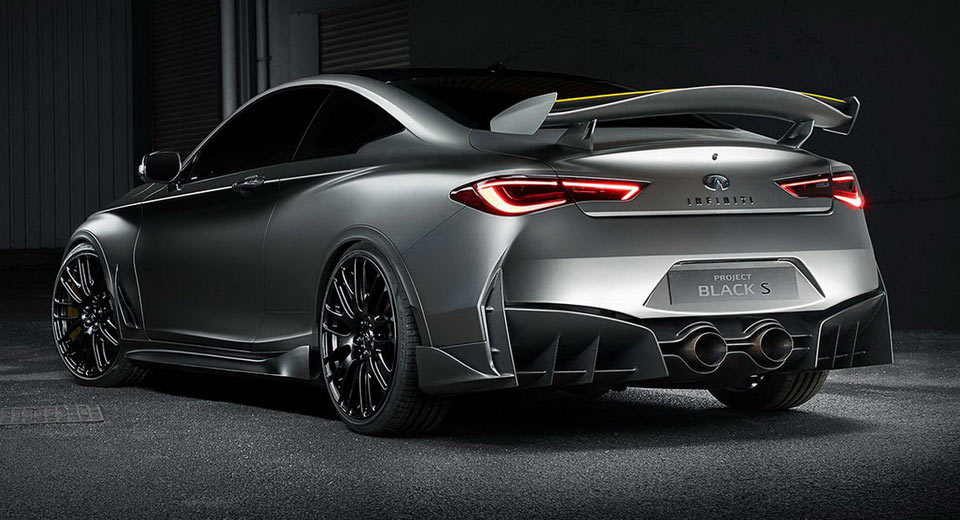 Used Infiniti Q60 >> Infiniti Goes Fast N' Furious With F1-Style Q60 Black S Hybrid Concept