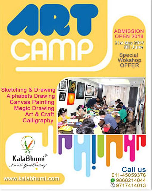 Summer Camp Drawing Painting Art Craft Handwriting