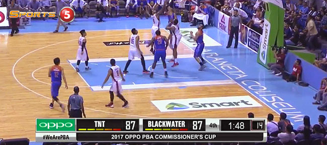 TNT KaTropa def. Blackwater, 92-89 (REPLAY VIDEO) March 31