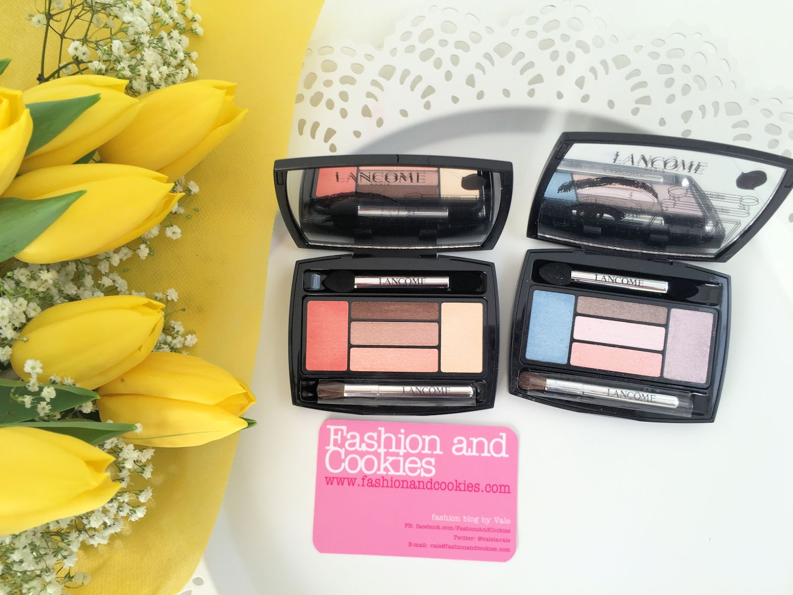 Lancôme makeup collection for Spring 2016 My Parisian Pastels eye palette on Fashion and Cookies beauty blog, beauty blogger