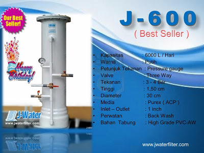 FIlter Air J600 Tangerang