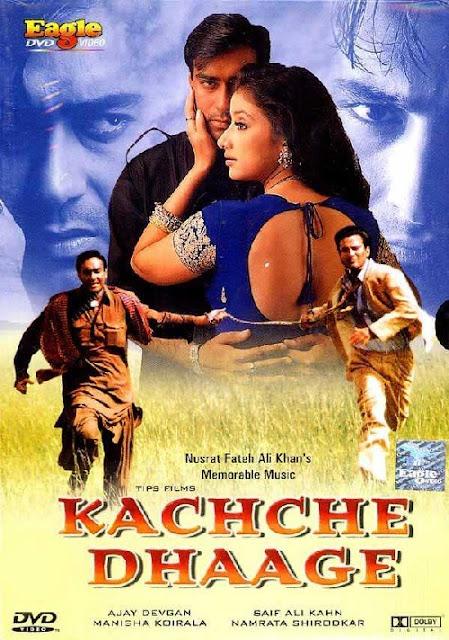 Kachche Dhaage (1999) DVDRip Subtitle Indonesia