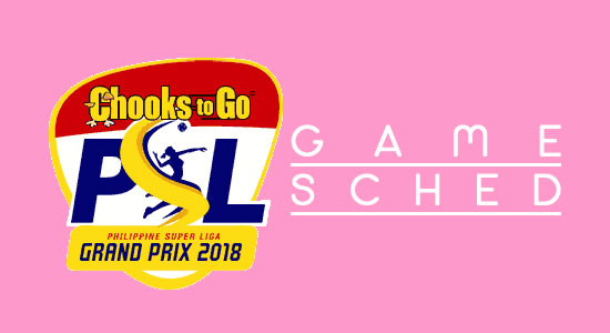 List of Chooks to Go PSL Grand Prix 2018 Game Schedules