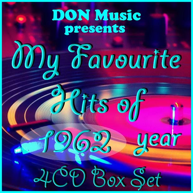 Va - Favourite Hits Of 1962 4cd 2015 60'-70' Rock