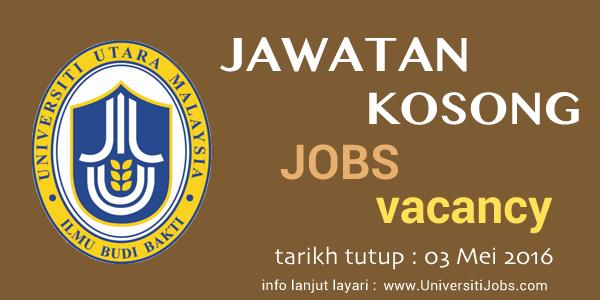 Jawatan Kosong Universiti Utara Malaysia (UUM) 2016 - Pembantu Tadbir